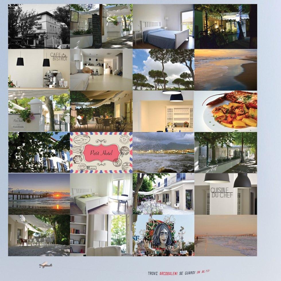Una cartolina dalla Versilia ed un saluti da tutti noi! Petit Hotel & Piattofondo Alberto & Marta